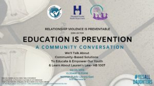 Education is Prevention: A Community Conversation @ Norman Public Library East
